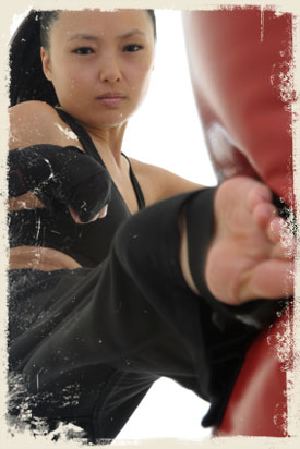 Male Kickboxer Picture